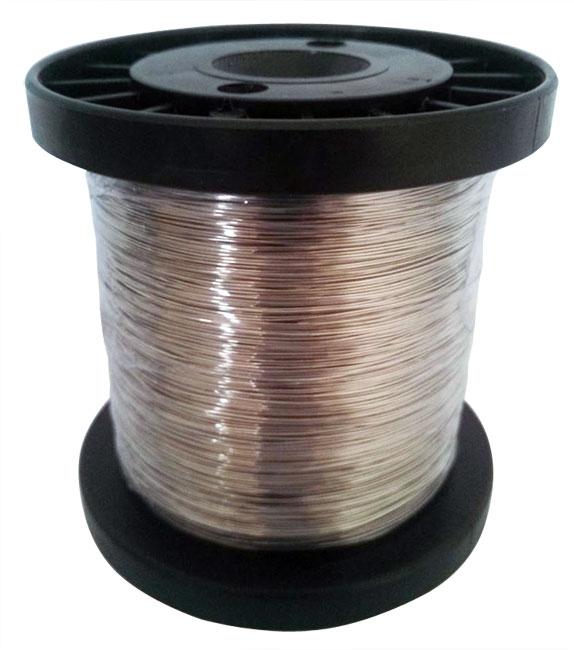 Fio Condutor de Alumínio  p/  Cerca Elétrica - 0,90mm x 250 metros