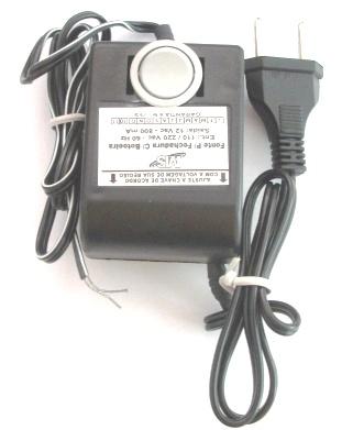 Fonte com Botoeira para Fechaduras Elétricas