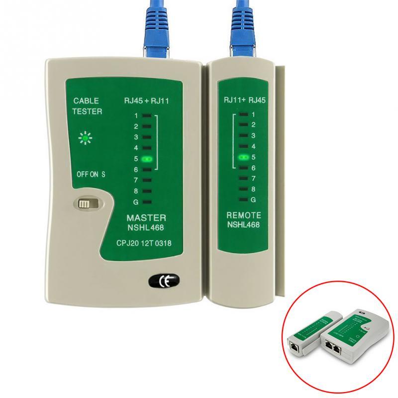 Testador de Cabo para Rede  RJ45 e Telefone  RJ11 -  Seccon