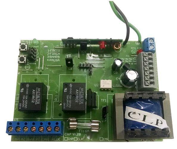 Central Placa de Comando para Automatizadores Basculante e Deslizante -  RCG CLP