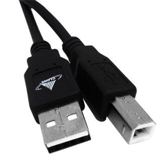 Cabo USB 2.0 para  Impressora 1,80 Metros Clone