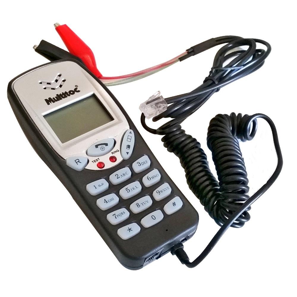 Badisco Telefonia Digital com Display de Cristal Líquido LCD - Multitoc