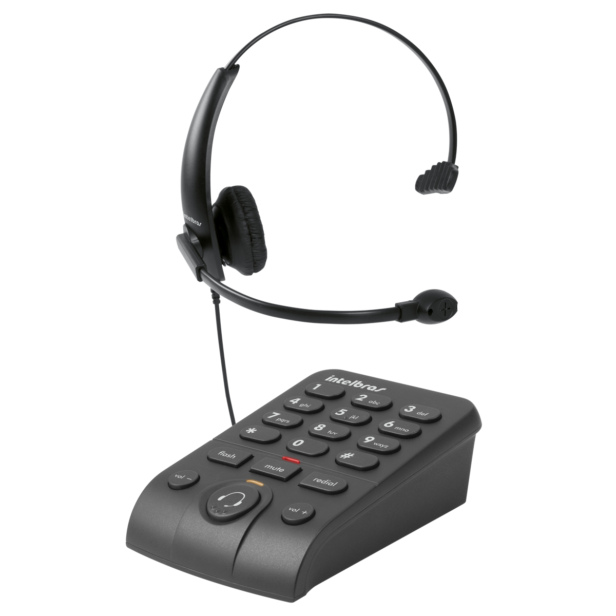 Telefone Headset com Teclado Intelbras Hsb 50