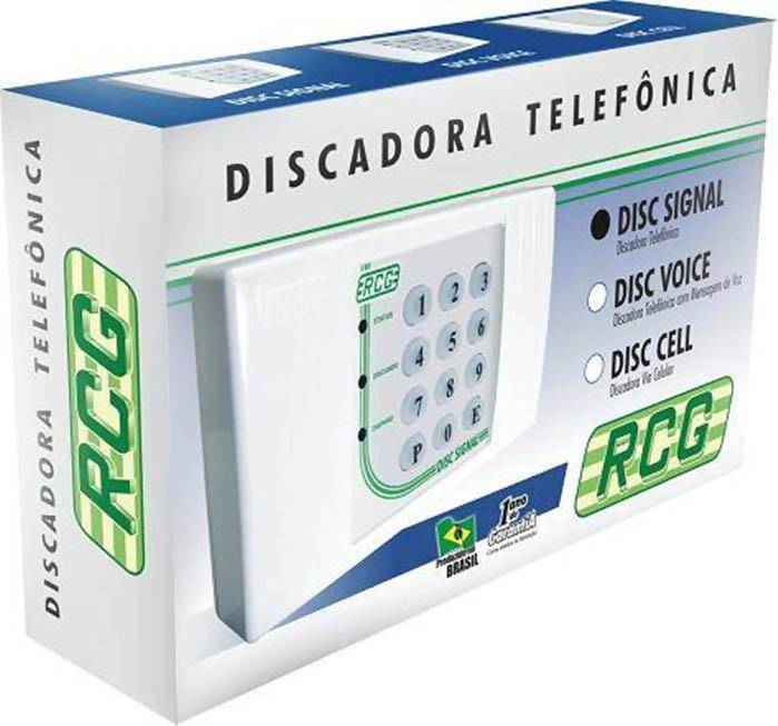 Discadora Telefônica Disc Signal - RCG (Cód. 1580)