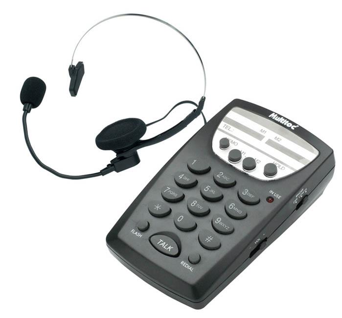 Fone Operador Com Teclado Multitoc MUHS S