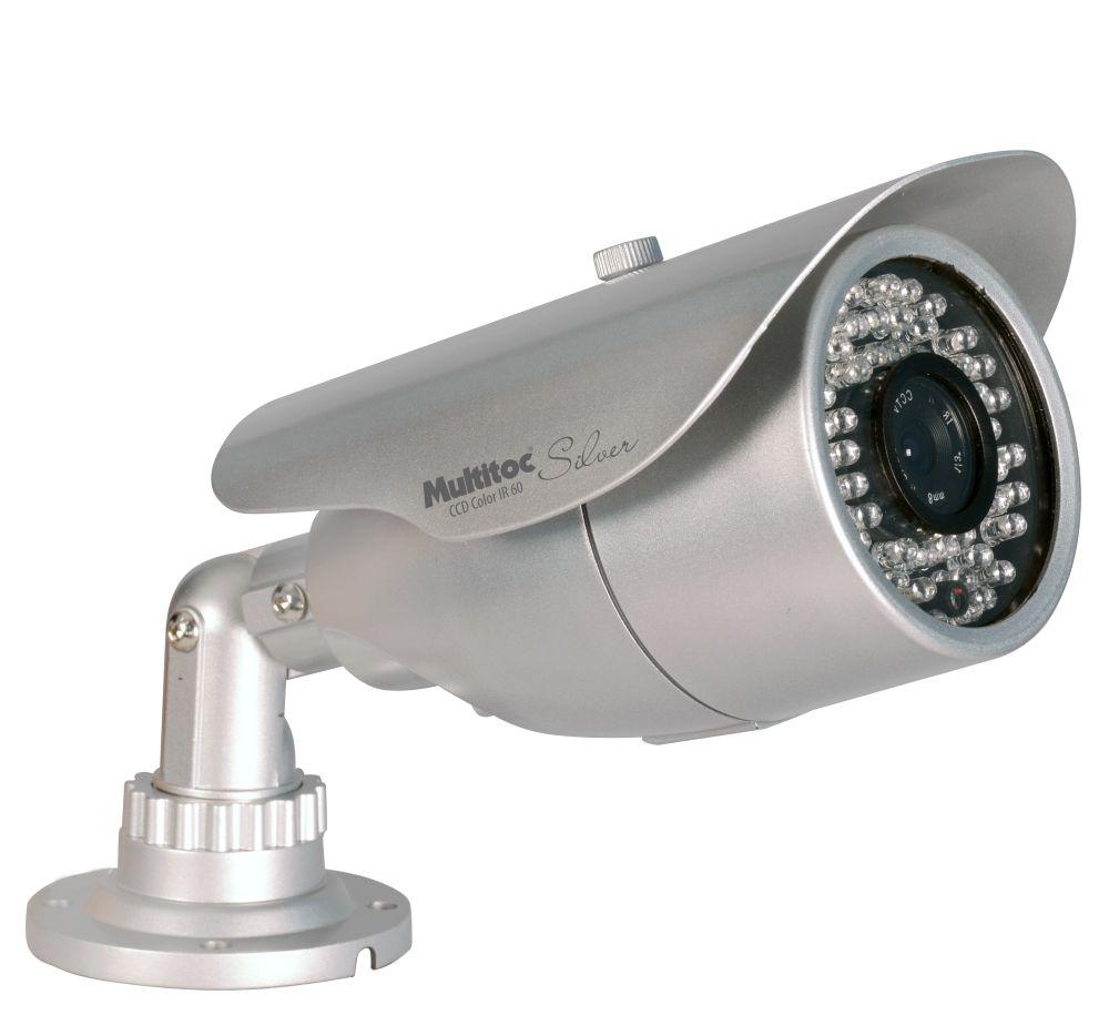 Câmera Infra CCD Color 1/3 IR 60 Metros - Multitoc