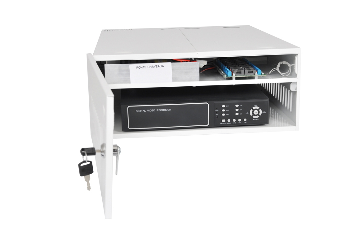 Rack Dvr Iron House Plus 1G 400 - 16 Canais - Fonte 5A