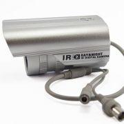 Câmera Infravermelho CCD Digital Lente 6 mm 600 Linhas 30 Metros