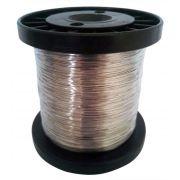 Fio de Aço Inox p/ Cerca Elétrica - Confiseg  0,70mm