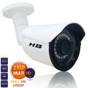 Câmera Bullet Infra HB Tech 2.0MP 1080P Full HD 4em1 HB-410
