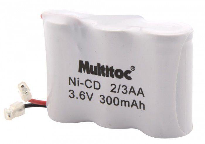 Bateria para Telefone sem Fio 3.6V 300mAH - Multitoc
