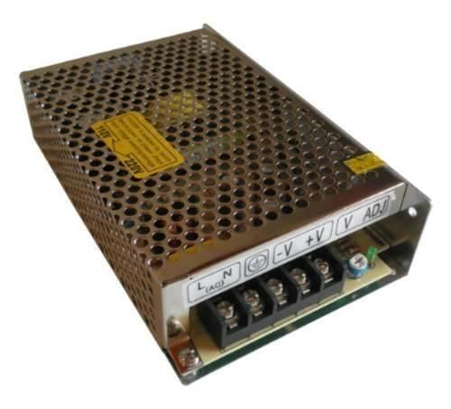 Fonte Chaveada Estabilizada Bivolt 12V 5A  para Cftv Led Som Etc