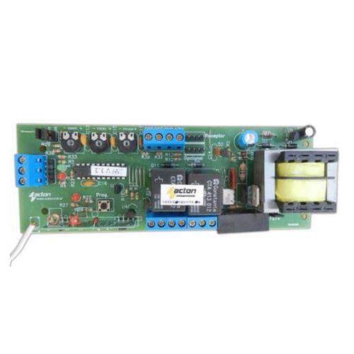 Central Placa de Comando Acton p/ Portão Automático  Compatível com Garen Retangular