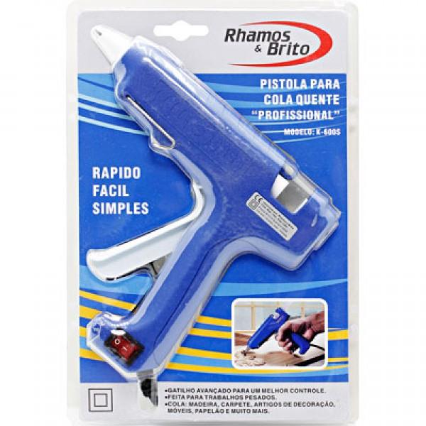 Pistola Para Cola Quente Profissional Rhamos & Brito K600