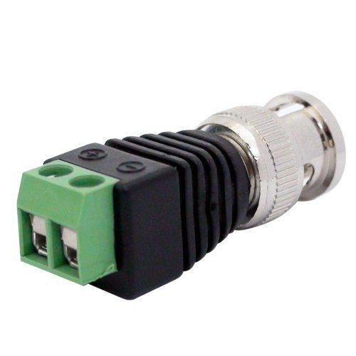 Conector BNC Macho de Parafuso - Borne