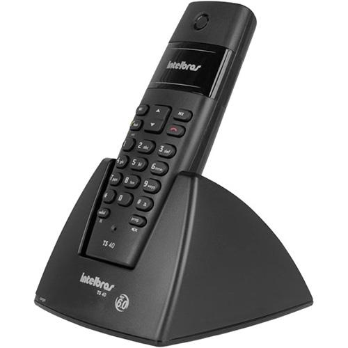 Telefone sem Fio TS40, DECT 6.0 Com ID Intelbras