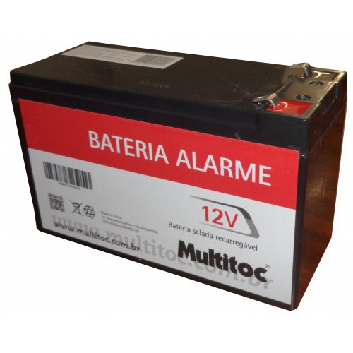 Bateria Selada Recarregável 12V /  7,2A