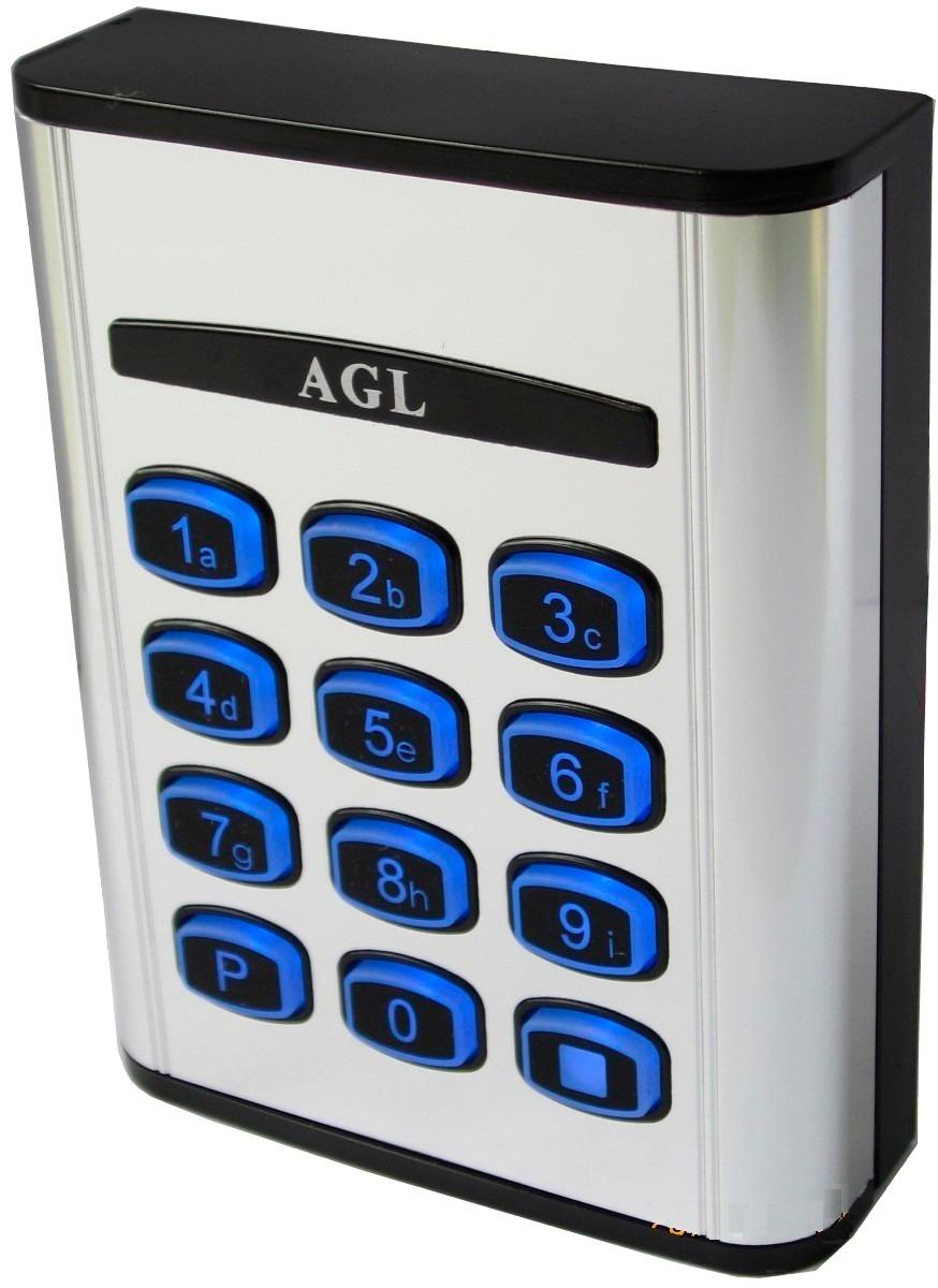 Controle De Acesso 25 Senhas Com Teclado Luminoso CA25/S - AGL