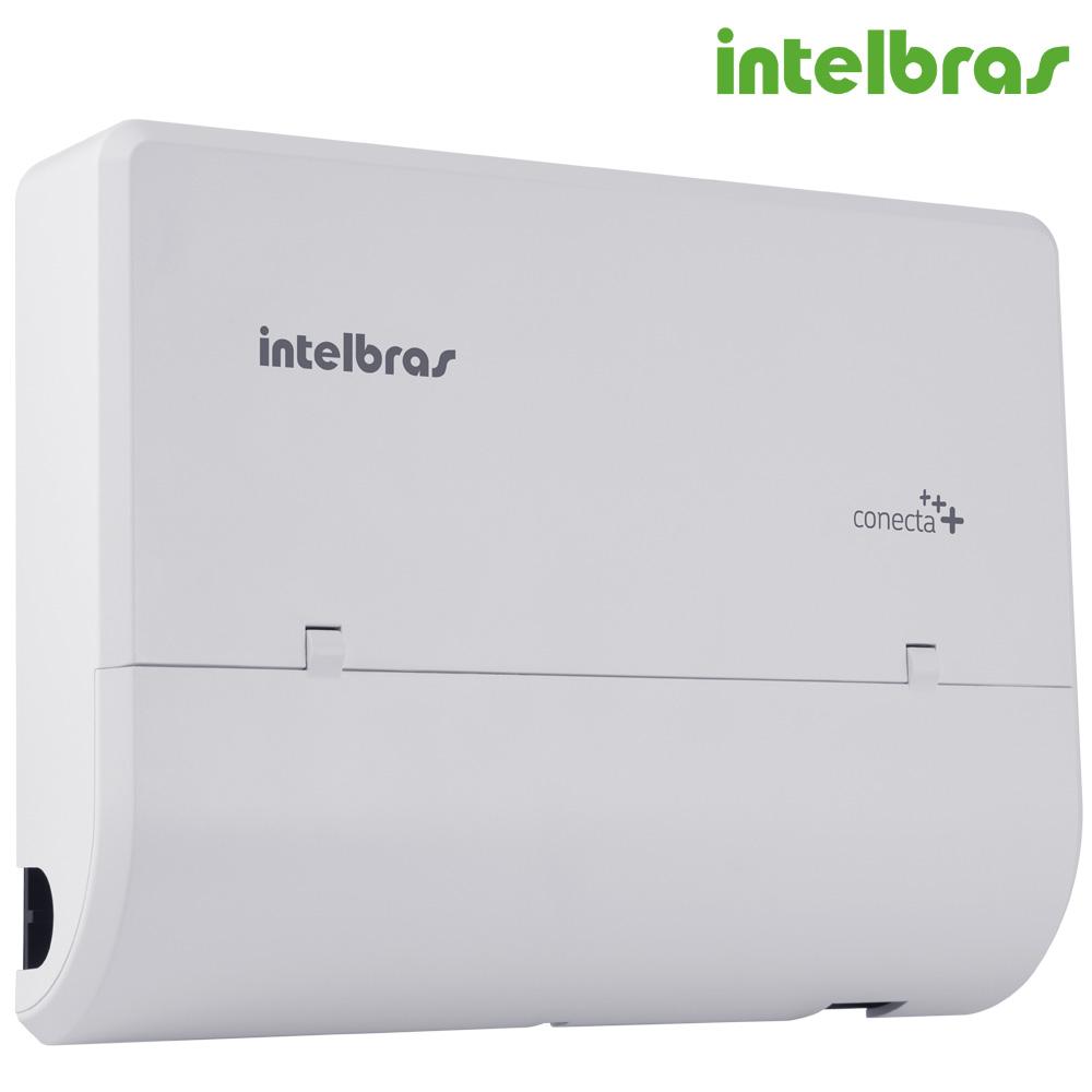 Central Telefonica Pabx Intelbras Conecta+ com 2 Linhas e 4 Ramais