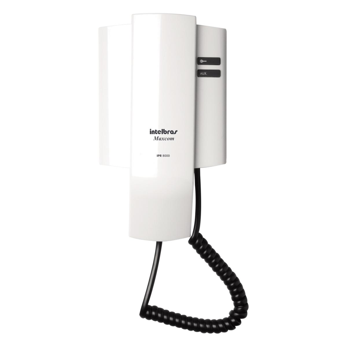 Interfone Extensão Para Porteiro Eletrônico IPR 8000 e 8010