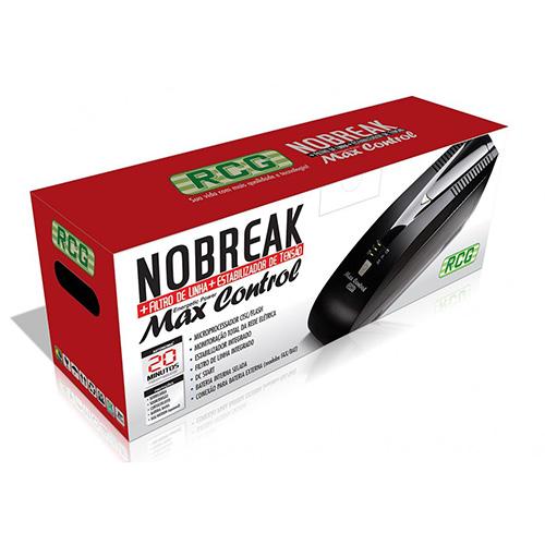 Nobreak Max Control RCG 600VA