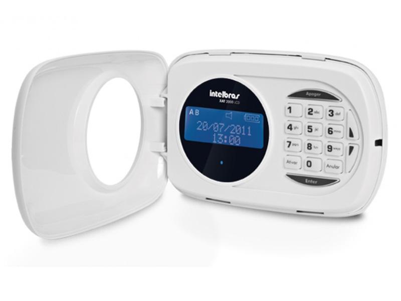 Teclado Para Centrais Monitoradas Xat 2000 LCD