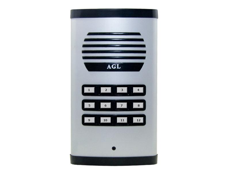 Porteiro Eletrônico Coletivo 12 Pontos AGL