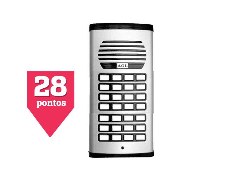 Porteiro Eletrônico Coletivo 28 Pontos AGL