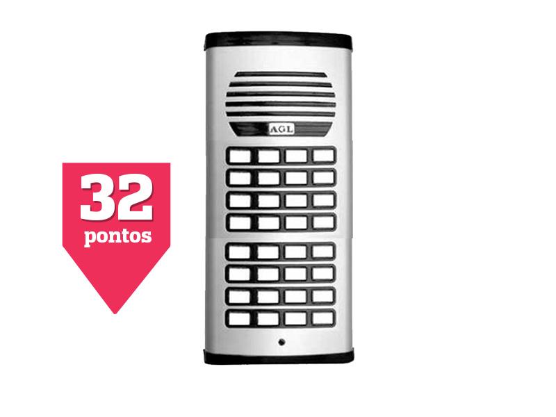 Porteiro Eletrônico Coletivo 32 Pontos AGL