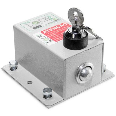 Trava Elétrica lock plus c/ módulo temporizador Ipec
