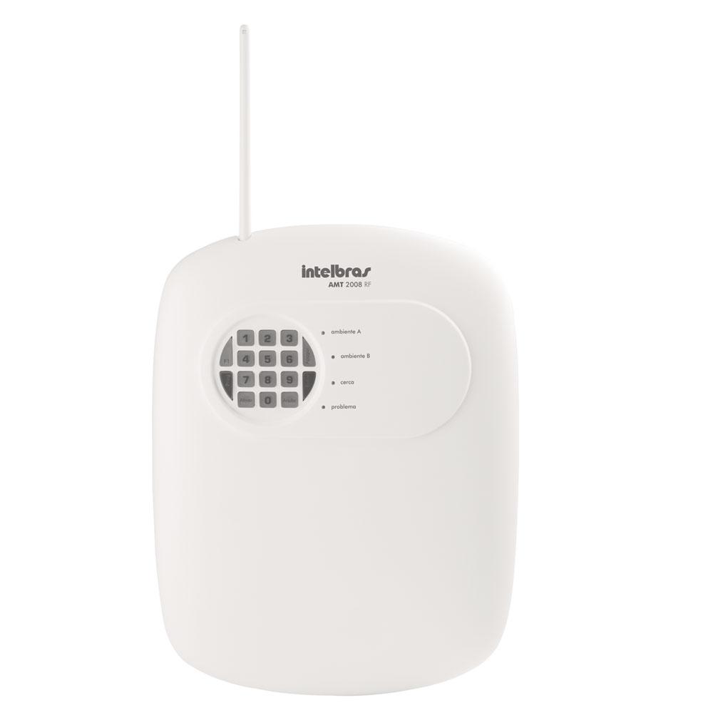 Central De Alarme Monitorada AMT 2008 RF - Intelbras