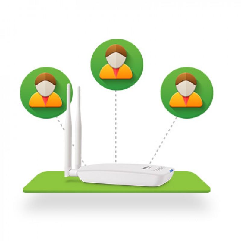 Roteador Hotspot 300 Intelbras Conexão WiFi via Facebook