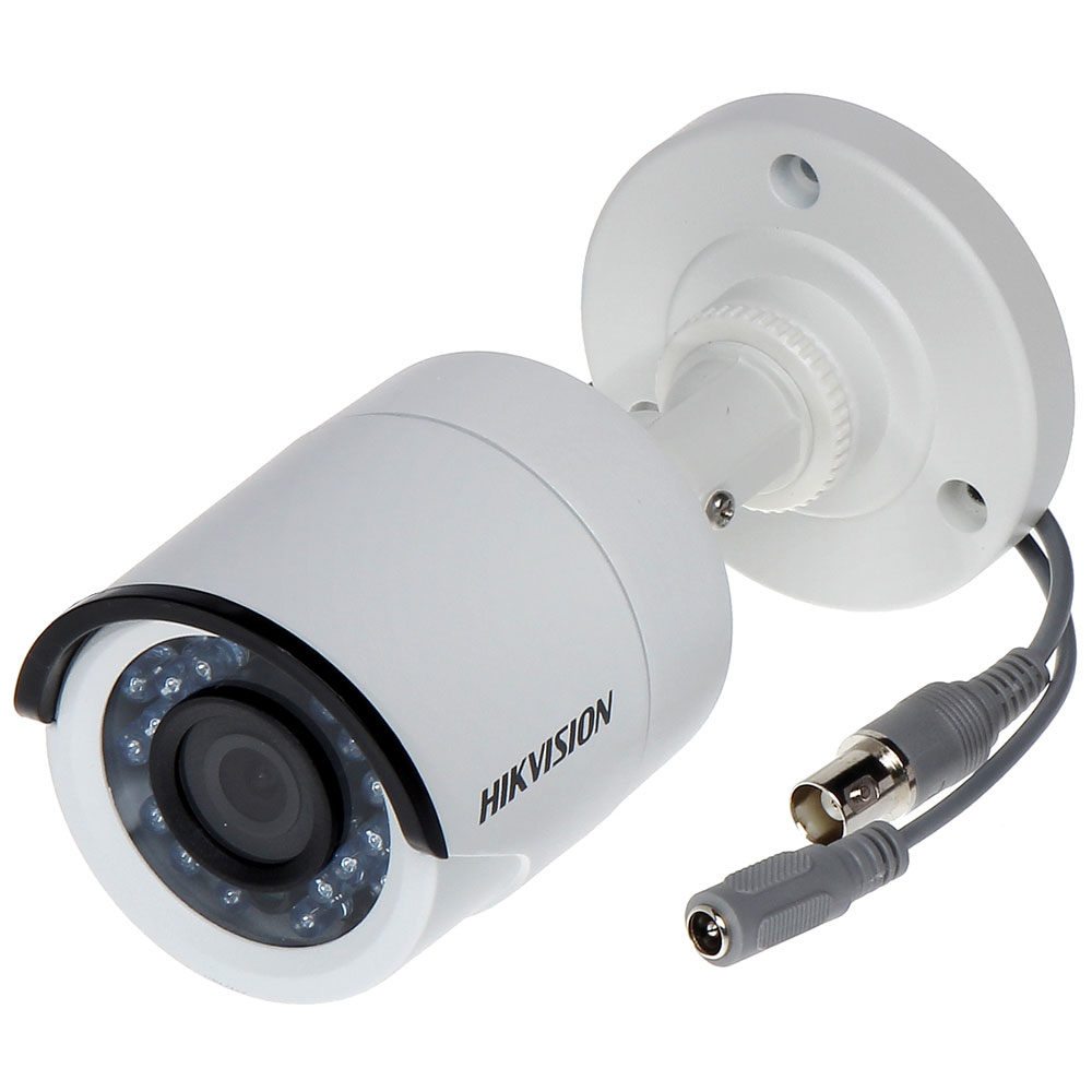 Câmera Bullet HDTVI Turbo 2,0 MP 1080P Lente 3,6mm Full HD Plástica - Hikvision