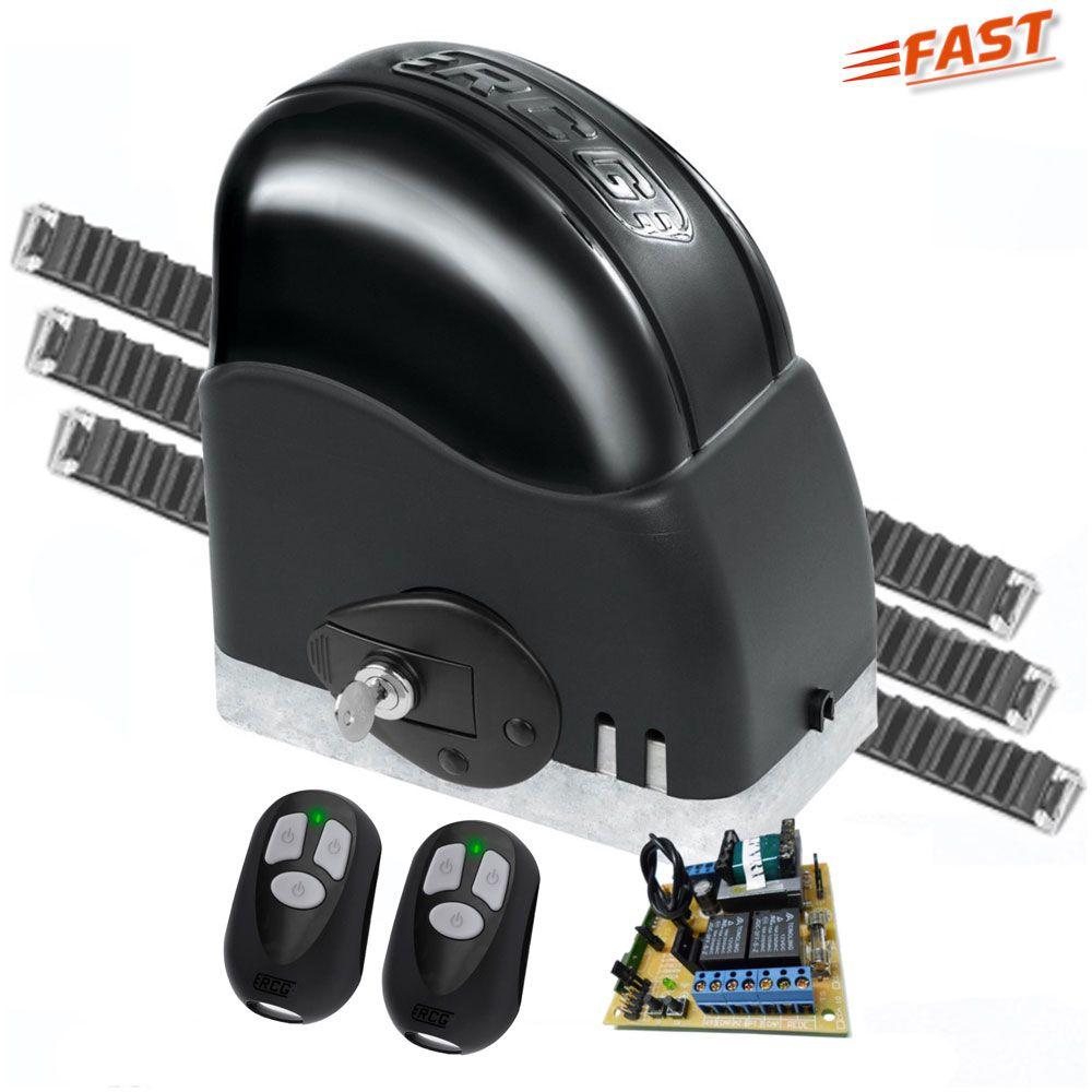 Motor de Portão Automático RCG Deslizante de 1/3 - Fast  127V