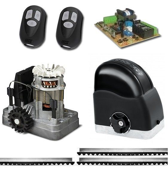 Automatizador Motor Portão Deslizante 1/4 HP RCG Slider Maxi Speedy - 127 Volts