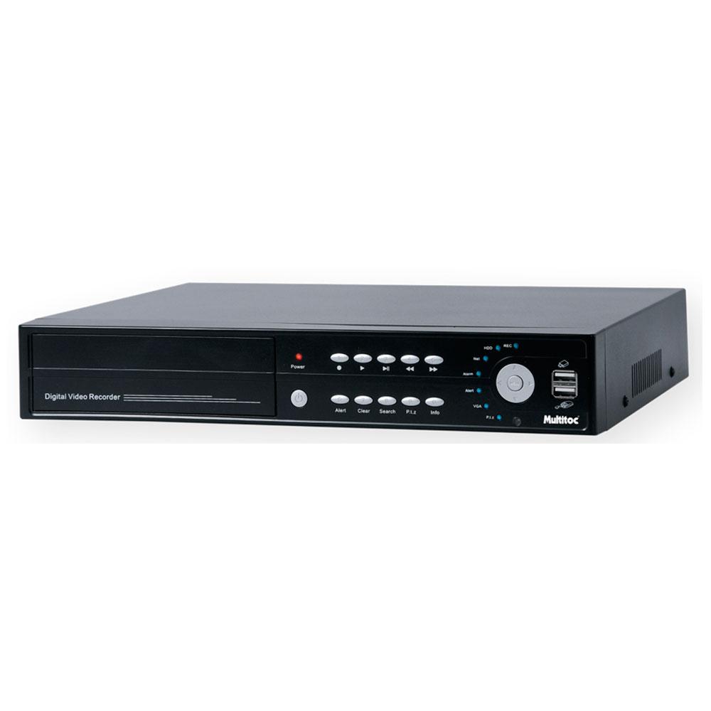 DVR Stand Alone Multitoc 8 Canais com Acesso Celular H264
