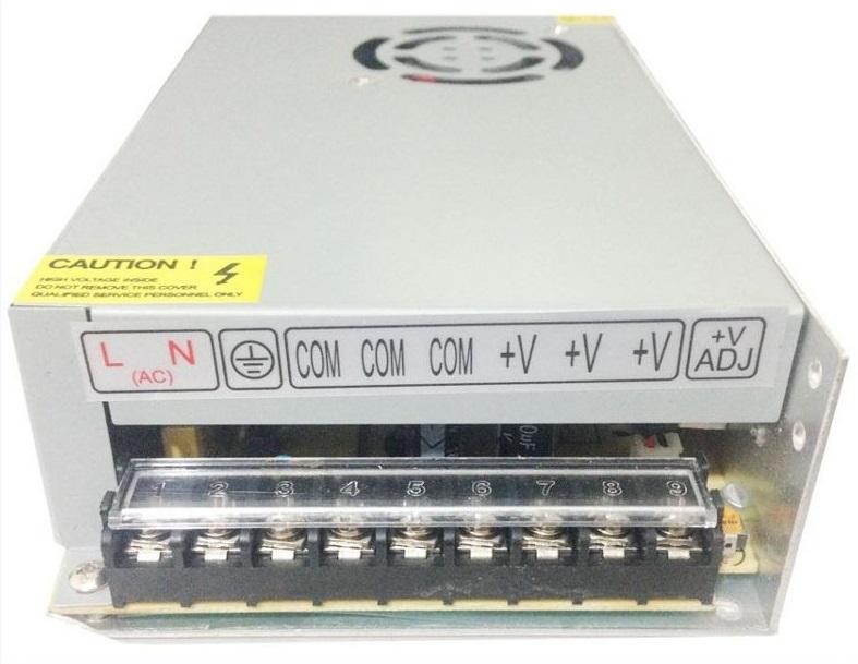 Fonte Chaveada Estabilizada 12V 20A Bivolt com Cooler