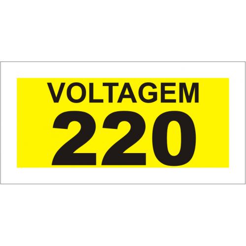 Voltagem: 220V
