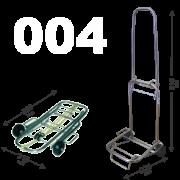Carrinho de Bagagens Capacidade até 50 kg dobravel Acompanha elastico 1,5m
