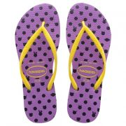 Chinelo Havaianas Feminino Slim Fresh Pop Up Purpura
