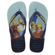 Chinelo Havaianas Original Feminino Masculino Os Simpsons Homer, Marge, Bart e Lisa