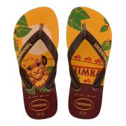 Chinelo Havaianas Original Feminino Masculino Lion King Amarelo Banana
