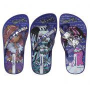 Chinelo Monster High Infantil Par de 3 Ipanema Violeta Roxo
