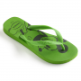 Chinelo Havaianas Infantil Top Disney Green Neon