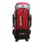 Mochila de Camping 55 Litros Clio 0MC5389 Vermelho com Cinza