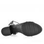 Sandália Modare Ultra Conforto Salto Médio Verniz 7109200 Preto