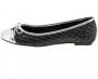 Sapatilha Moleca Feminino Tecido Plissado Shine Metal Glamour 5188538 Multi Prata com Prata