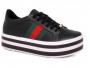 Tênis Flatform Vizzano 1298102 - Preto