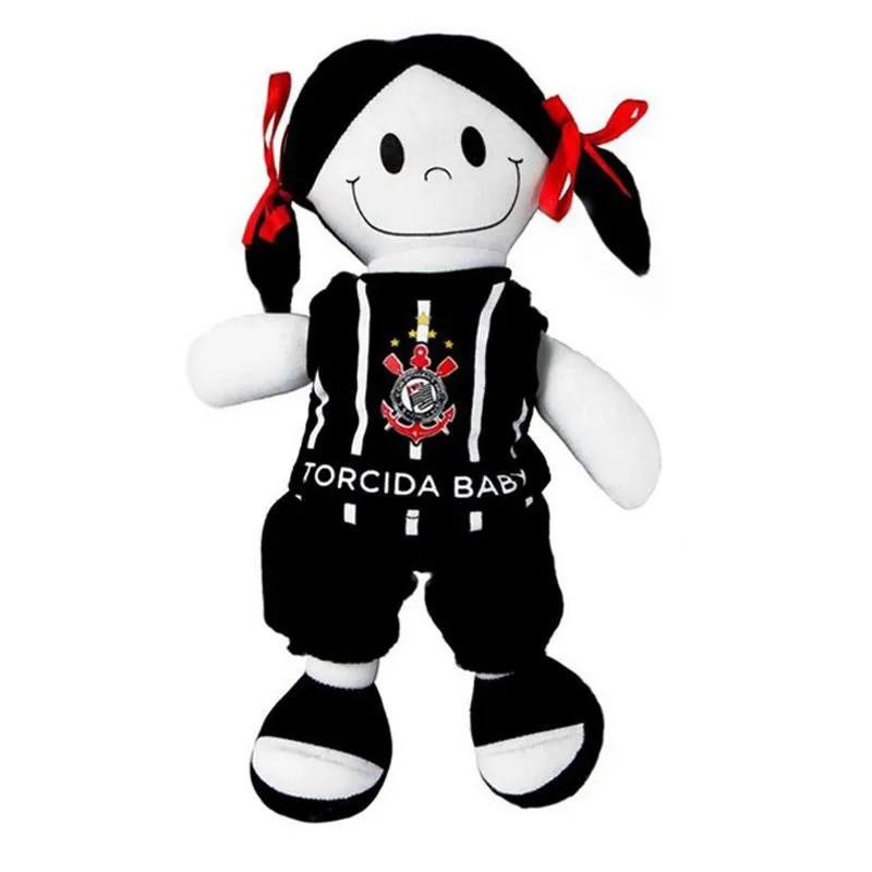 Boneca Torcida Baby Corinthians Licenciada - 238B