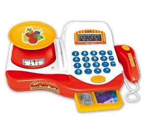 Caixa Registradora Zoop Toys Branco/ Laranja ZP00250